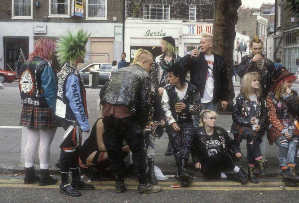 The punk subculture